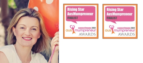 Amanda Edwards from inviteme, a finalist in the Ausmumpreneur Awards